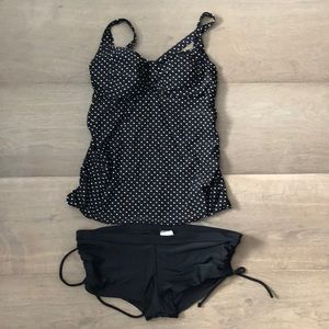Liz Lange Maternity Tank top swimsuit